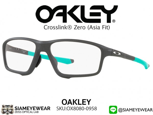 แว่นตา Oakley Optic CROSSLINK ZERO (ASIA FIT) OX8080-0958