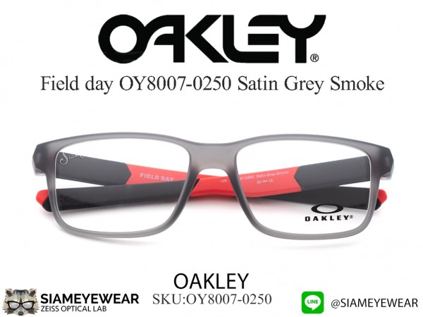 แว่น Oakley Field day OY8007 Satin Grey Smoke