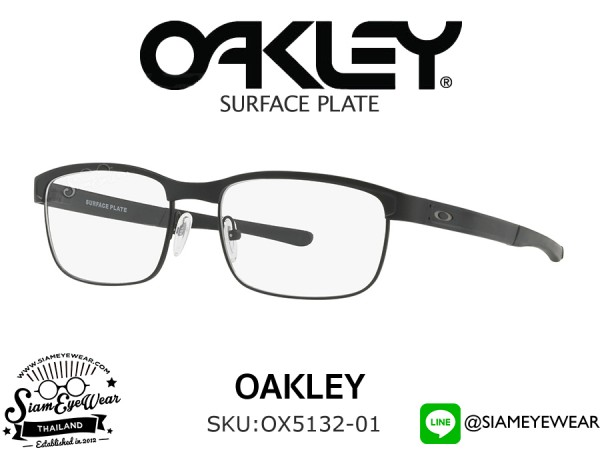 แว่นตา Oakley Optic Surface Plate OX5132-01 Matte Black