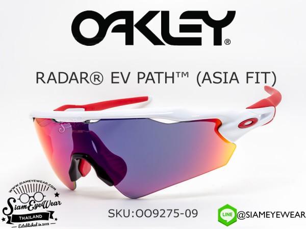 แว่น Oakley Radar EV Path (Asia Fit) OO9275-09 Polished White/Positive Red Iridium
