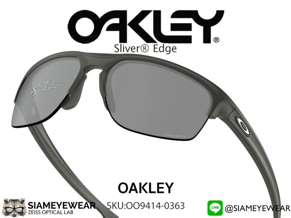 แว่น Oakley SLIVER EDGE (ASIA FIT) OO9141-0363