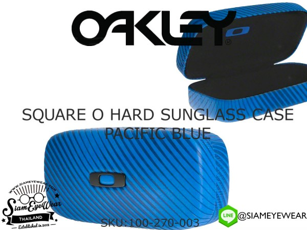 กล่องแว่น Oakley Square O Hard Sunglass Cases 100-270-003 Pacific Blue
