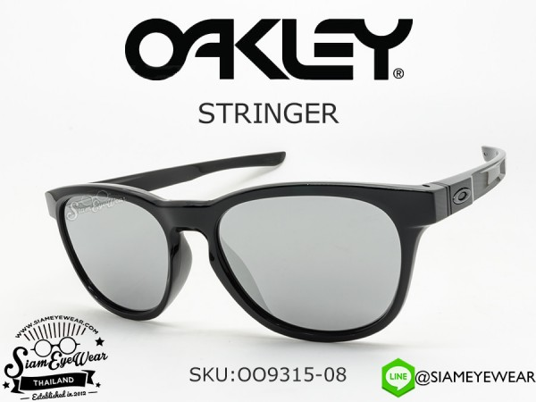 แว่นตากันแดด Oakley STRINGER OO9315-08 Polished Black/Chrome Iridium
