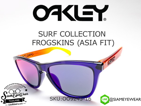 แว่นกันแดด Oakley Surf Collection Frogskins (Asia Fit) OO9245-16