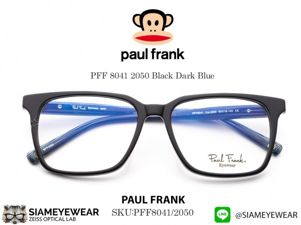 แว่นตา Paul Frank PFF 8041 2050 Black Dark Blue