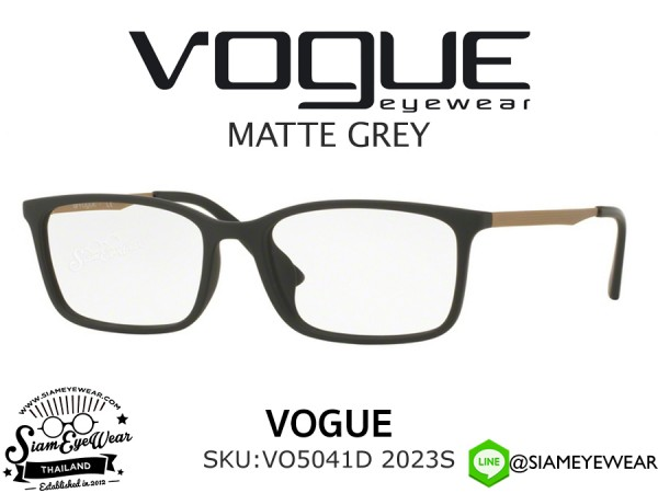 แว่นตา Vogue Optic VO5041D 2023S Matte Grey
