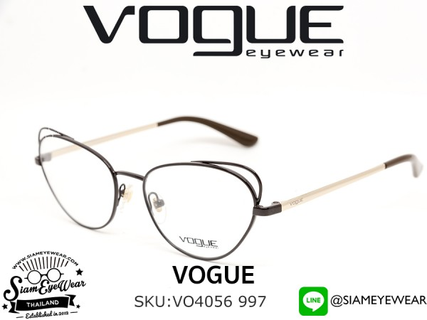 แว่น Vogue Optic VO4056 997 Brown